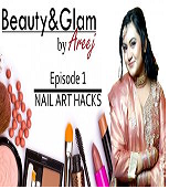 How to do Nail Art at home without kit? | Beauty Glam by Areej | Episode 1