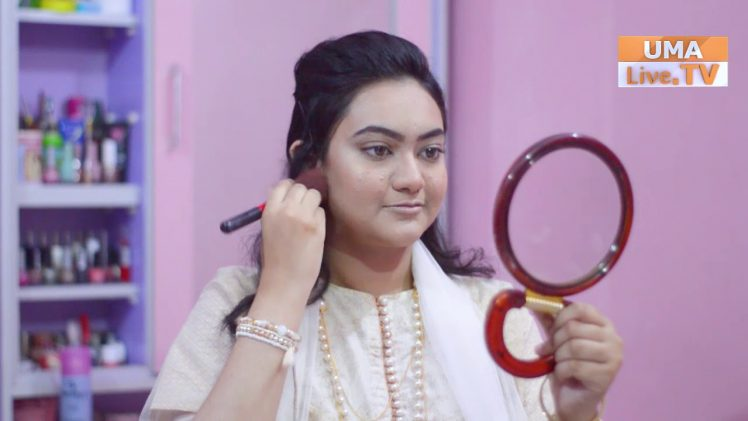 Quick and easy full glam makeup in 5 mins   Beauty & Glam by Areej   Episode:12
