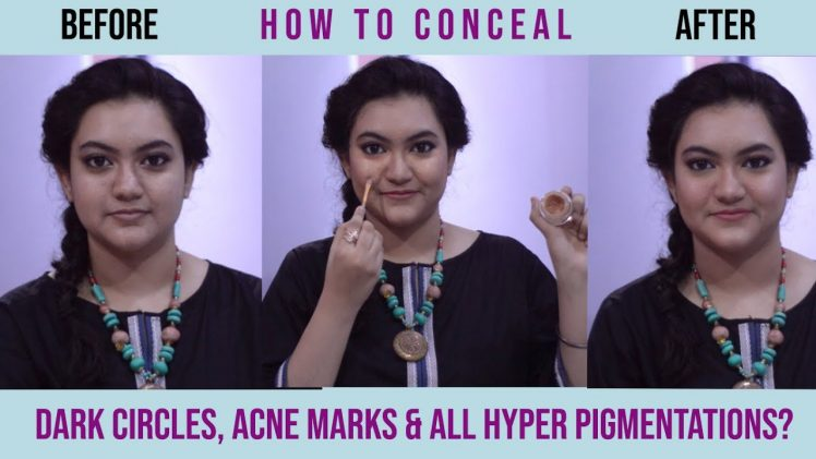 How to conceal dark circles & acne marks? | Ep: 27 | Beauty & Glam by Areej | In full detail in Urdu